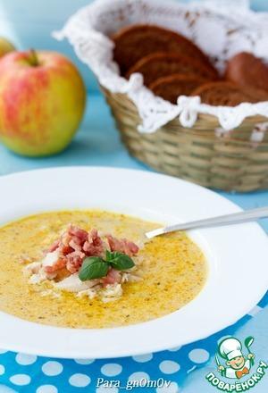 Рецепт Суп карри с яблоком