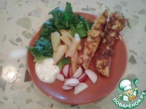 Рецепт Вкусные домашние нагетсы