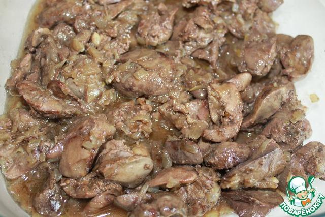 Куриная печень по милански рецепт с фото