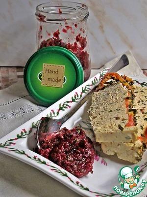 Рецепт Клюквенный дип к мясу. Подарок мясоедам