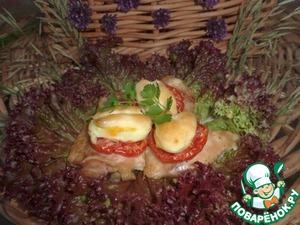 Рецепт Куриные бедрышки, запеченные в духовке со сметаной