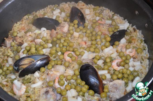 Рецепт мидий горячее блюдо