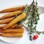 Жареная мини-кукуруза