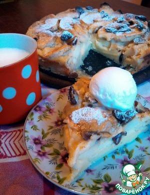 Рецепт Клафути с яблоками и грушами