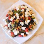 Салат-закуска с баклажанами