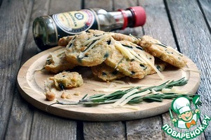 Рецепт Сырное печенье с розмарином и оливками