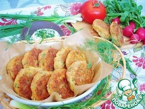 Рецепт Биточки из семги