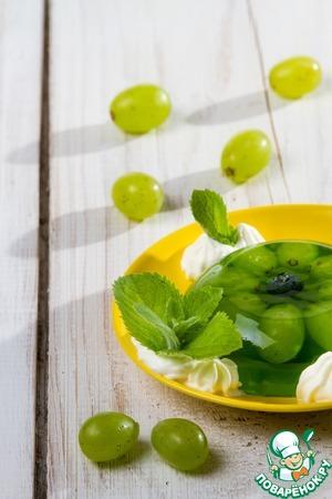 Рецепт Желе из виноградного сока