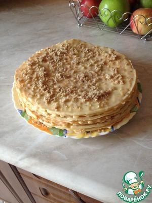 Рецепт Домашний вафельный торт