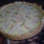 Пирог с нежнейшей ревенево-яблочной начинкой