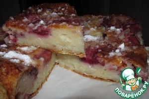Как готовить Творожник с ягодами рецепт с фотографиями пошагово
