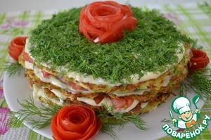 Рецепт Торт из кабачков