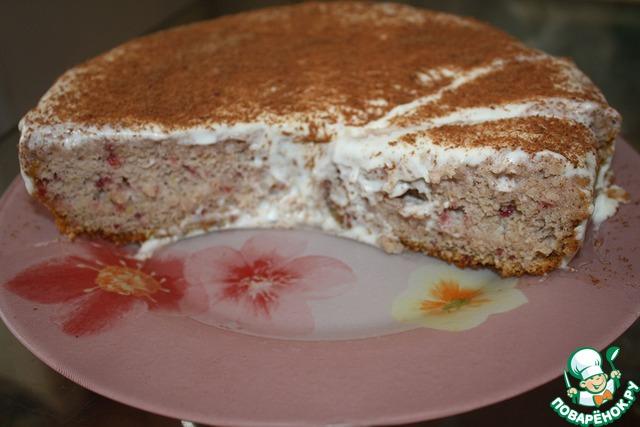 Торт трухлявый пень с вареньем в мультиварке пошаговый рецепт