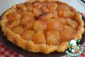 Рецепт Яблочный Тарт Татен с лимонным ликером