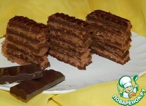 Домашний рецепт приготовления с фото Шоколадное пирожное