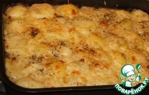 Рецепт Рыбная запеканка с картофелем