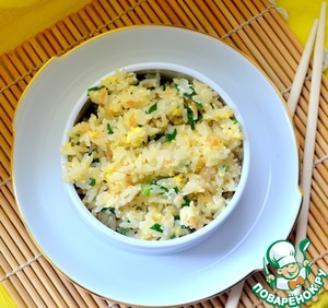 Рецепт Рис с чесноком по-японски