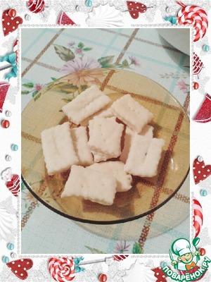 Рецепт Простые соленые крекеры