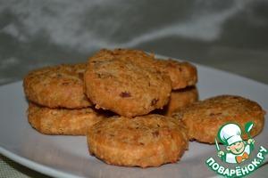 Рецепт Сырное печенье (сабле) с беконом