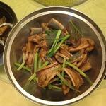 Экзотическое блюдо! Жаренная в растительном масле змея