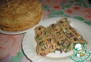 """Рецепт Закуска-салат """"Летняя оригинальность"""""""