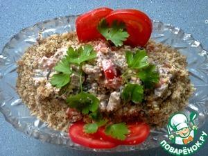 Салат из баклажанов и помидоров вкусный рецепт с фото как приготовить