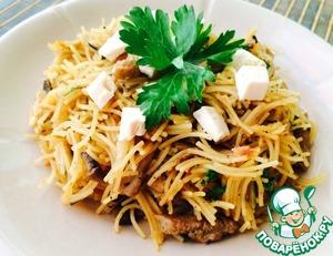 Рецепт Вермишель-паутинка-вкусный ужин за 15 минут