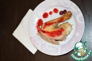 Рецепт Клюквенный соус для мяса