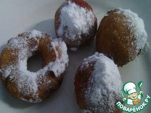 Рецепт Пончики с вишней