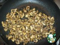 """Слоеный салат """"Супер"""" (с жареной рыбой и грибами) ингредиенты"""