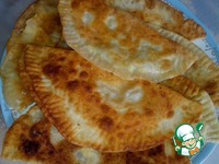 Простые и вкусные чебуреки с творогом ингредиенты