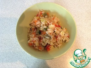 Рецепт Ризотто с кабачком и стручковой фасолью