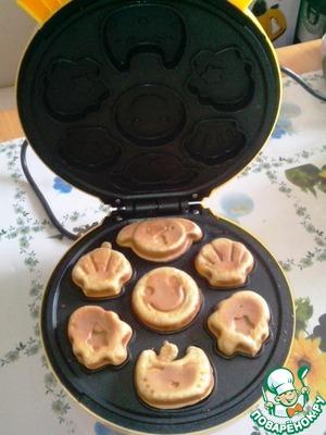 Рецепт Рецепт вафель для электровафельницы Орешек-4 или китайского аналога