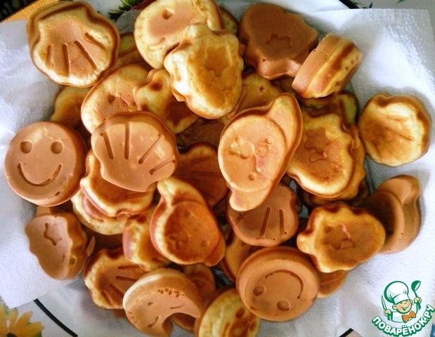 рецепт печенья для электровафельницы с фото
