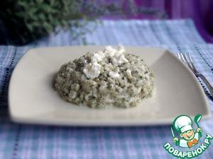 Рецепт Ризотто со шпинатом и козьим сыром