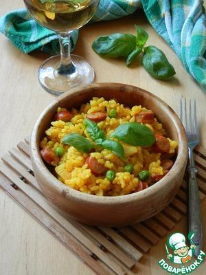 Рецепт Рис по-каталонски