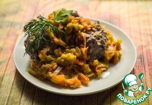 Рецепт Ежики в овощном пюре