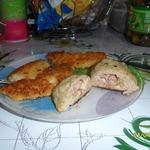Куриные зразы с начинкой