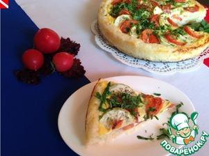 Рецепт Рисовый тарт с овощами