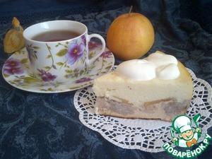 Рецепт Запеканка творожная с яблоком и рисом