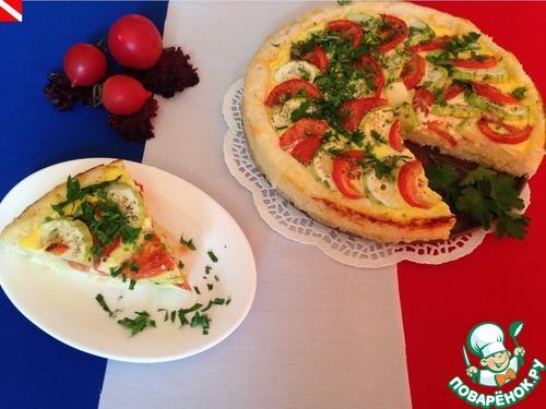 Тарт с овощами рецепт с фото
