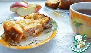 Рецепт Творожный кекс с яблоками