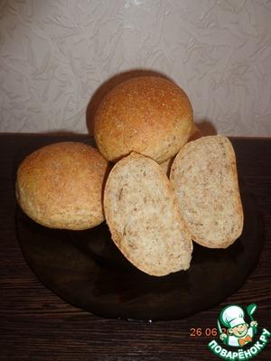 Рецепт Булочки (хлеб) с отрубями