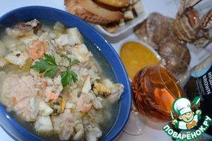 """Рецепт Суп французских рыбаков """"Буйабес"""""""