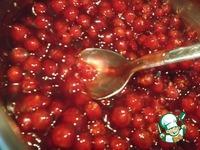 Штрейзелевый творожный пирог с красной смородиной ингредиенты