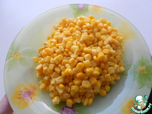 Салат из риса помидоров кукурузы