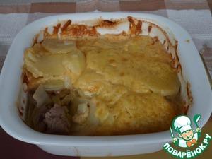 Рецепт Индейка пд картофельной корочкой