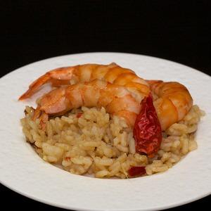 Рецепт Эби тяхан или рис с креветками по-японски
