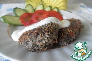 Рецепт Котлеты из шампиньонов с гречневой крупой