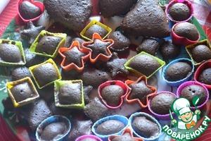 Рецепт Классические шоколадные кексики (+рецепт крема)